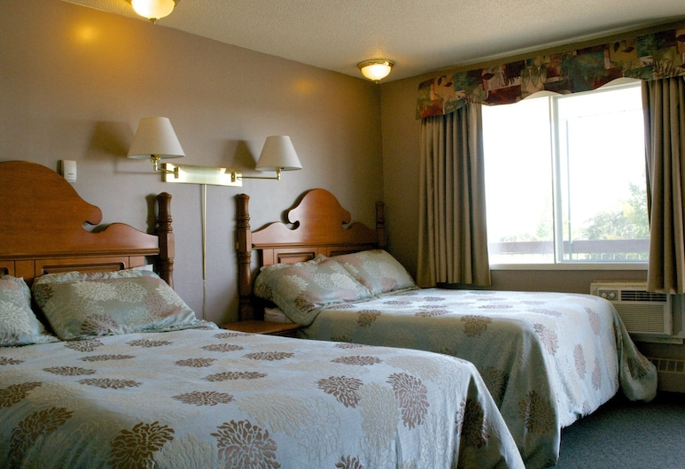 The King's Motel, St. Paul, Standard Room, 2 Queen Beds, Guest Room