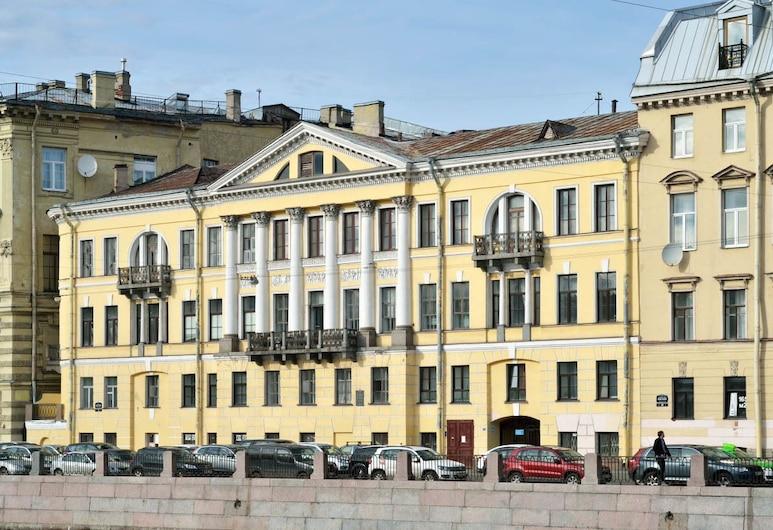 Meeting Place na Fontanke - Hostel, Sankt Peterburgas, Viešbučio fasadas