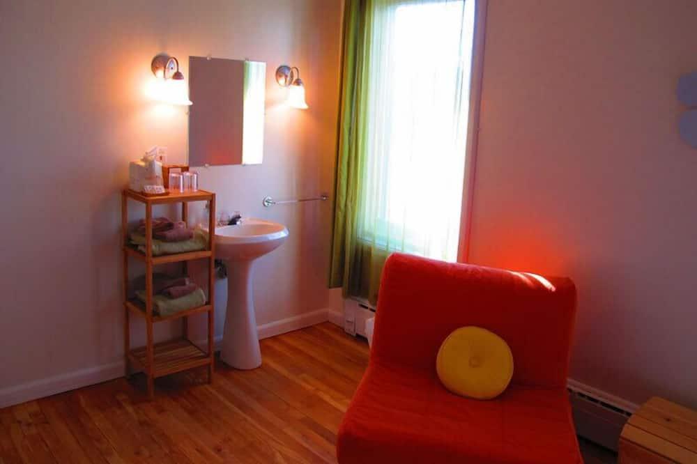 Klassieke kamer, 1 queensize bed met slaapbank (Forêt) - Woonruimte