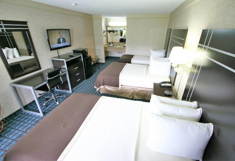 ديلوكس إن فايتفيل, فاييتفيل, غرفة عادية - لغير المدخنين (Two Double And One Single Bed), غرفة نزلاء
