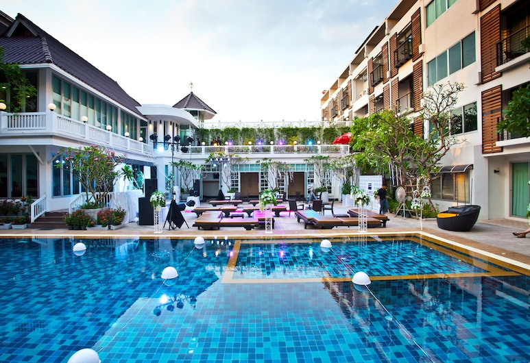 Paradise Hotel, Udon Thani, Aerial View
