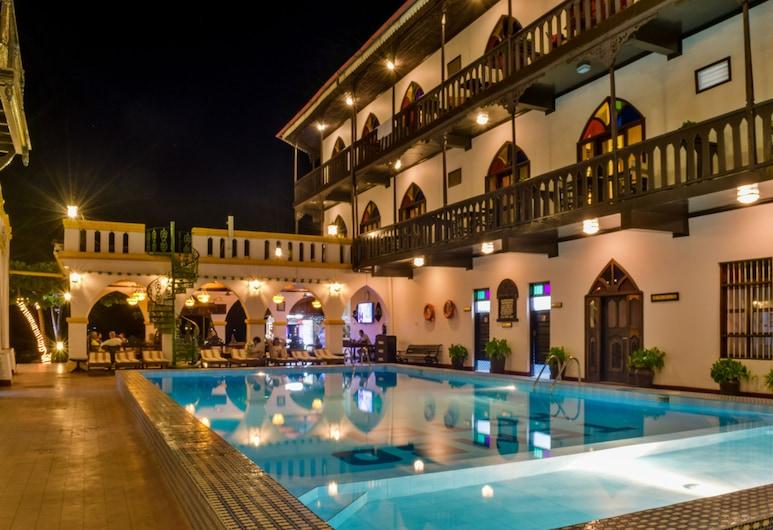 Tembo House Hotel & Apartments, Zanzibaro miestas, Lauko baseinas