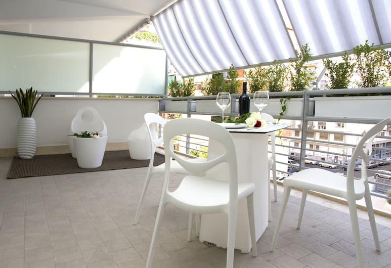 MyApART Suite, Rom, Deluxe-lejlighed - terrasse, Terrasse/patio