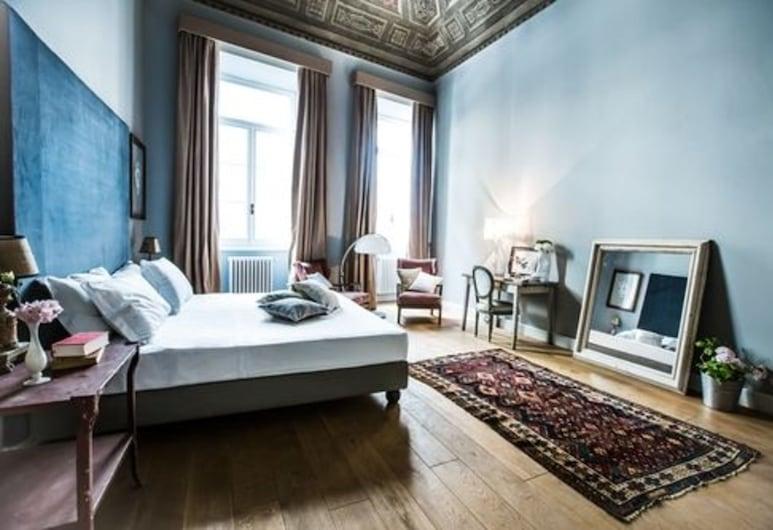 Soprarno Suites, Florencia, Dvojlôžková izba typu Deluxe, balkón, Hosťovská izba