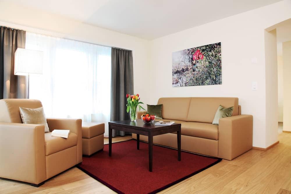 Apartamento, 1 habitación, planta baja (Suite) - Sala de estar