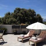 Junior-suite - 1 soveværelse - boblebad - bjergudsigt - Terrasse/patio