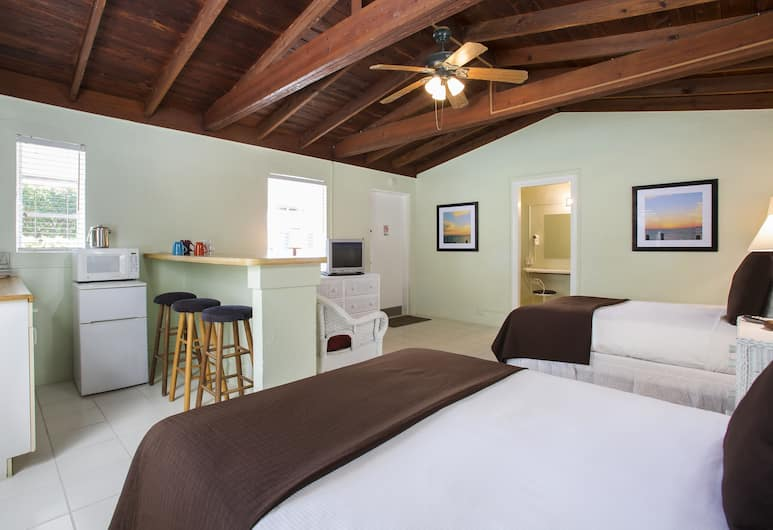 Southwinds Motel, Key West, Standard Oda, 2 Büyük (Queen) Boy Yatak, Oda