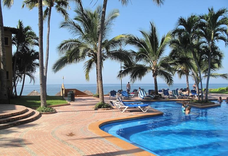 Los Tules Villas del Sol, Puerto Vallarta, Piscina al aire libre