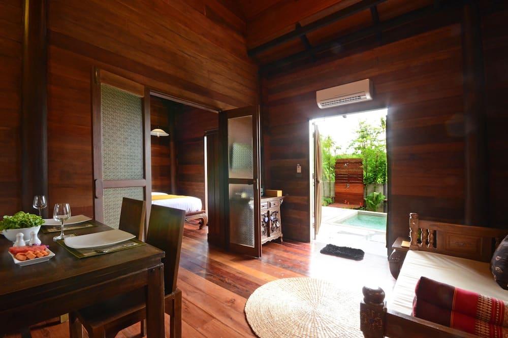 Romantisk villa - Vardagsrum